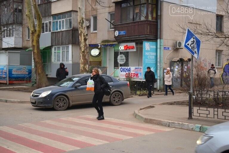Насколько безопасны пешеходные переходы у школ Черноморска?, фото-5