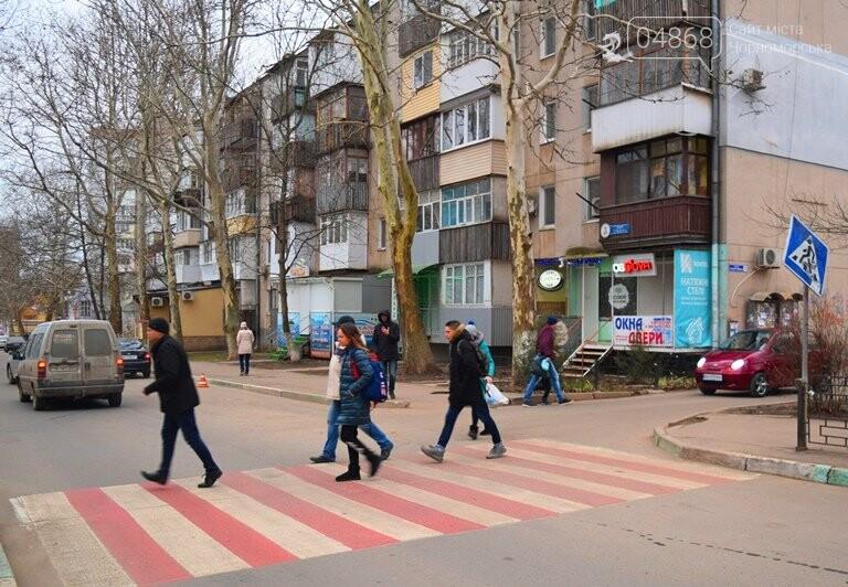 Насколько безопасны пешеходные переходы у школ Черноморска?, фото-7