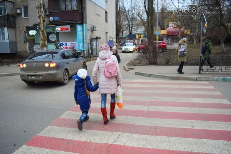 Насколько безопасны пешеходные переходы у школ Черноморска?, фото-21