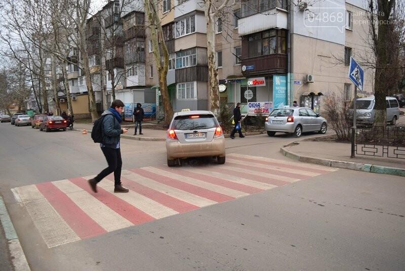 Насколько безопасны пешеходные переходы у школ Черноморска?, фото-24