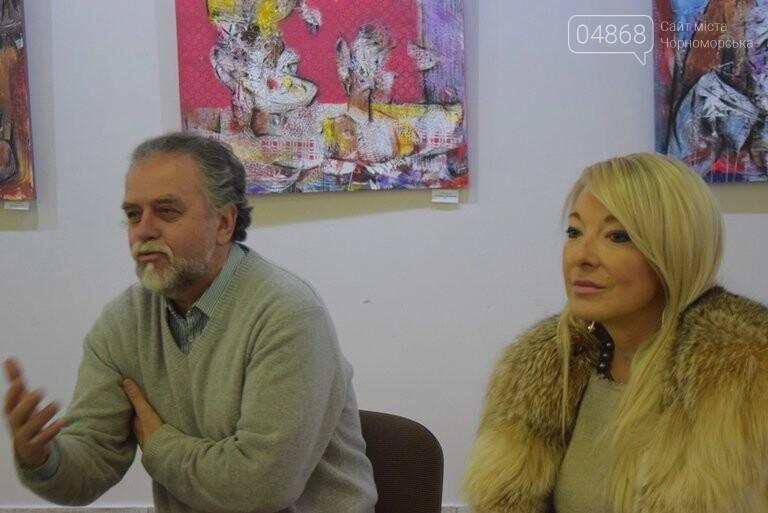 «Сучасний ненаратив»: в Черноморске представили выставку абстрактной живописи, фото-4