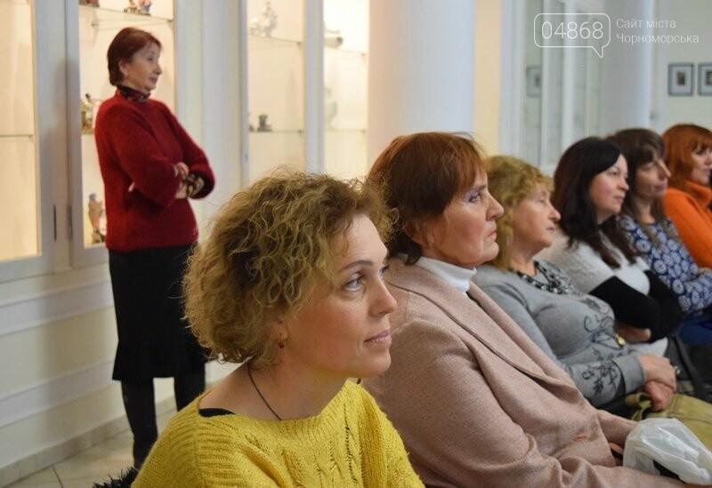 Мечты и миры Элеоноры Бутенко: в Черноморске открылась выставка молодой художницы, фото-5