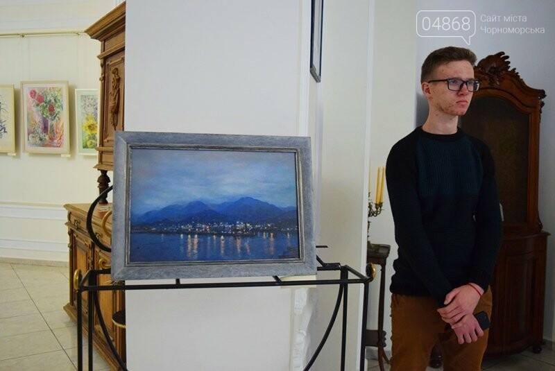 Мечты и миры Элеоноры Бутенко: в Черноморске открылась выставка молодой художницы, фото-8