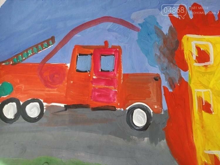Черноморские юные художники рисовали спасателей, фото-2