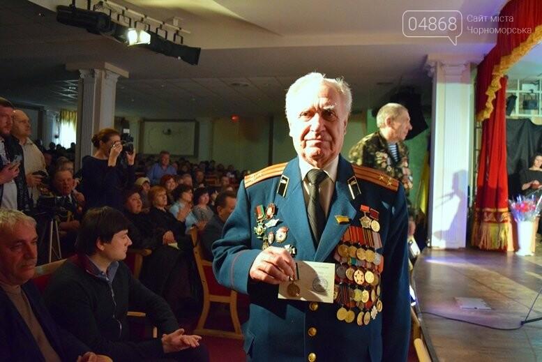 В Черноморске наградили воинов-интернационалистов и почтили память погибших, фото-13