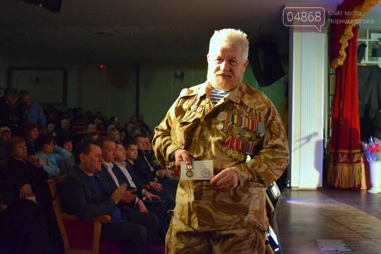 В Черноморске наградили воинов-интернационалистов и почтили память погибших, фото-11
