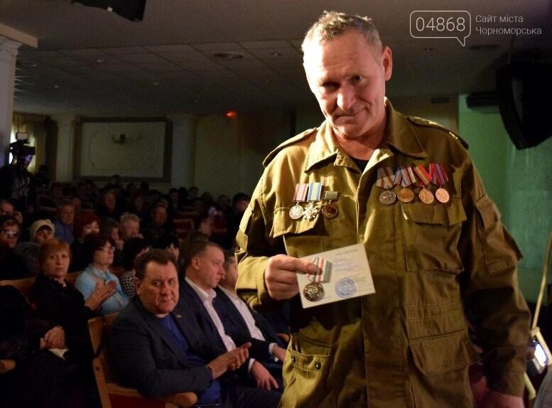 В Черноморске наградили воинов-интернационалистов и почтили память погибших, фото-23