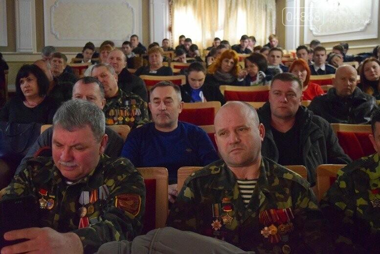 В Черноморске наградили воинов-интернационалистов и почтили память погибших, фото-35