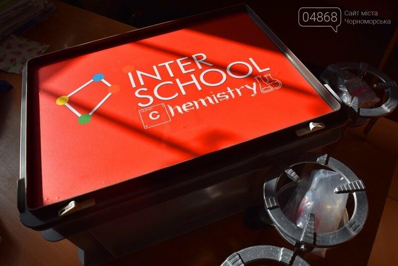 Гимназия Черноморска получила в подарок от губернатора области 3 современных класса-лаборатории (видео), фото-11