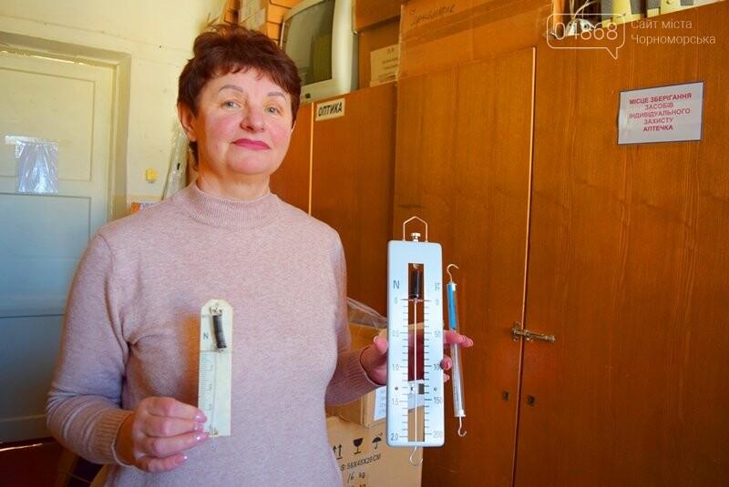 Гимназия Черноморска получила в подарок от губернатора области 3 современных класса-лаборатории (видео), фото-16