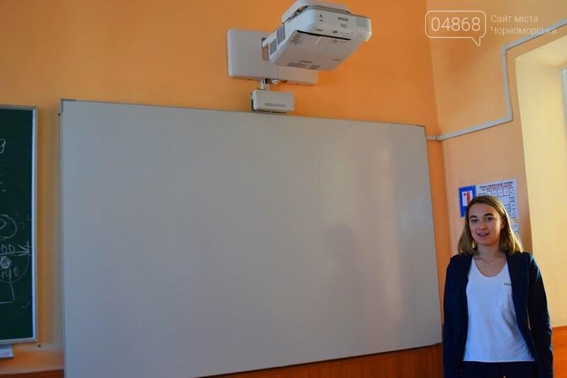 Гимназия Черноморска получила в подарок от губернатора области 3 современных класса-лаборатории (видео), фото-19