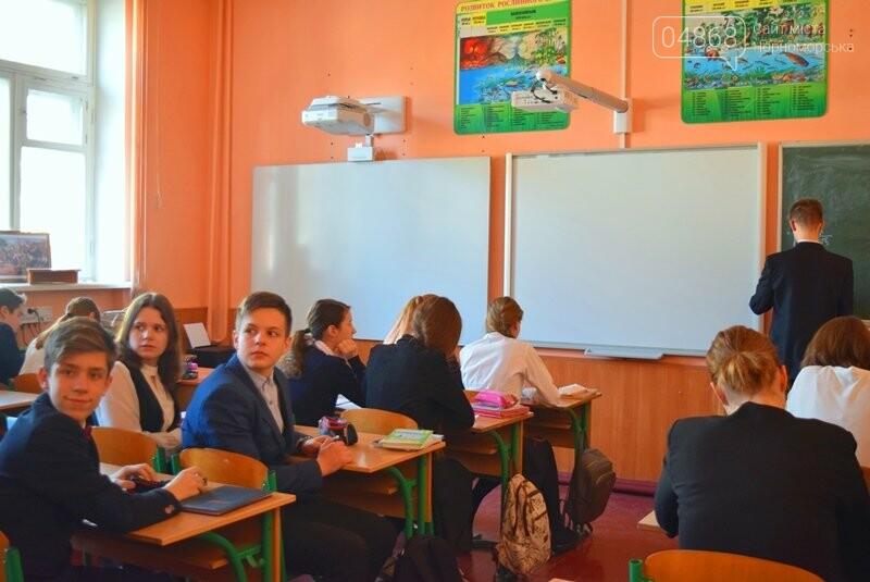 Гимназия Черноморска получила в подарок от губернатора области 3 современных класса-лаборатории (видео), фото-20