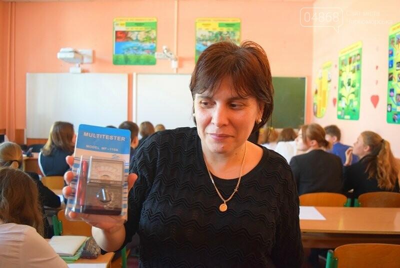 Гимназия Черноморска получила в подарок от губернатора области 3 современных класса-лаборатории (видео), фото-22