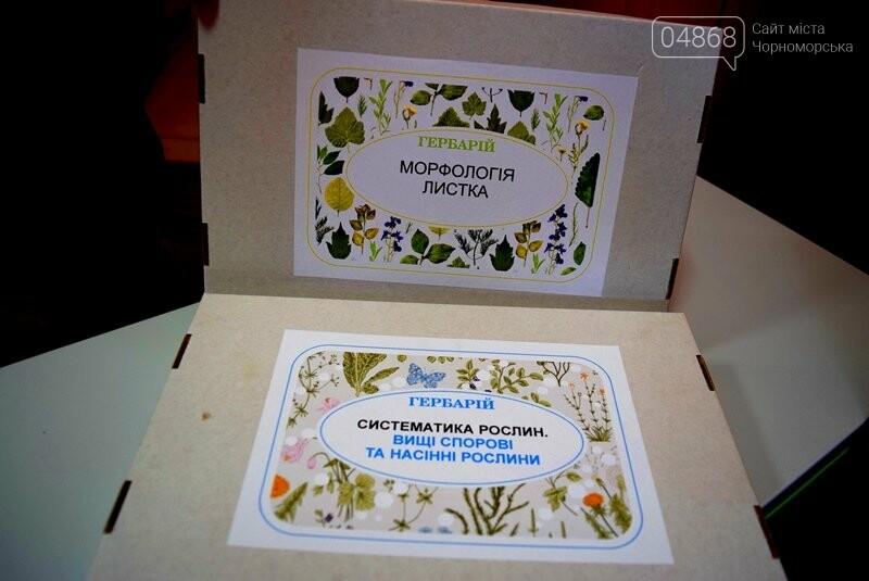 Гимназия Черноморска получила в подарок от губернатора области 3 современных класса-лаборатории (видео), фото-27