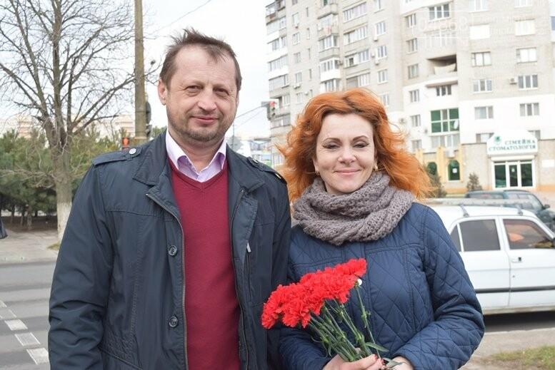 В Черноморске почтили память Героев Небесной Сотни, фото-15