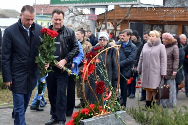 В Черноморске почтили память Героев Небесной Сотни, фото-13