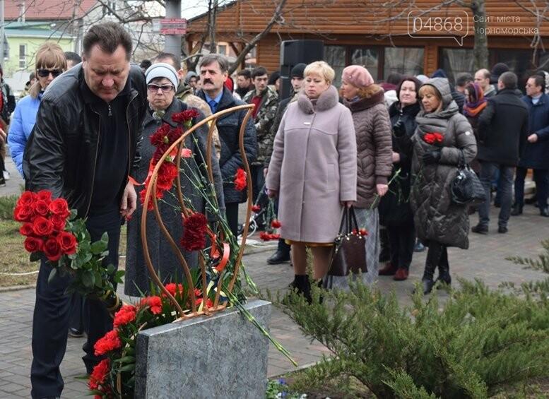 В Черноморске почтили память Героев Небесной Сотни, фото-3