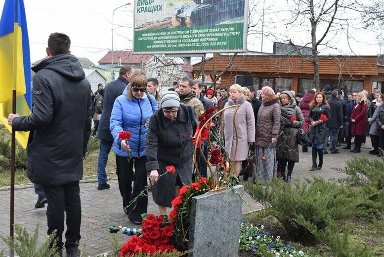 В Черноморске почтили память Героев Небесной Сотни, фото-18