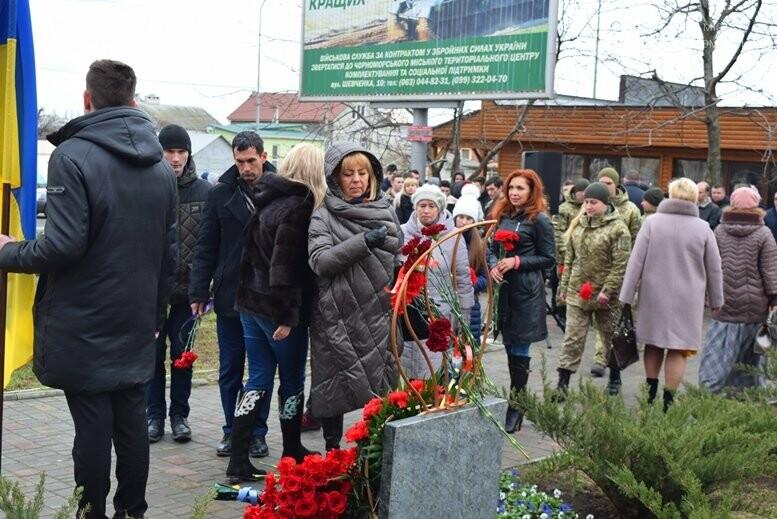 В Черноморске почтили память Героев Небесной Сотни, фото-12