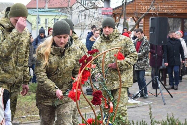 В Черноморске почтили память Героев Небесной Сотни, фото-8