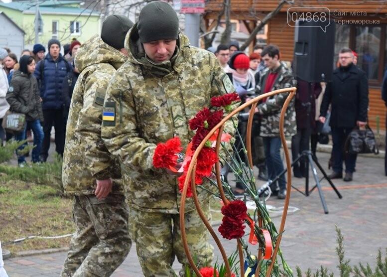 В Черноморске почтили память Героев Небесной Сотни, фото-2