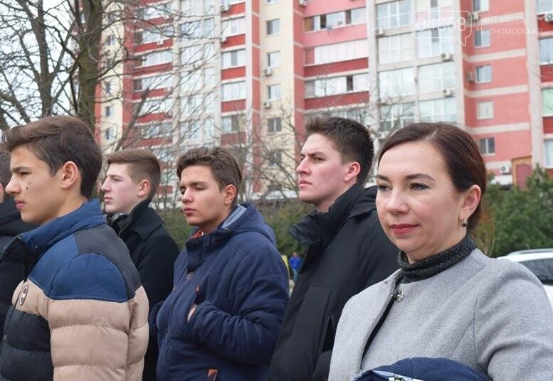 В Черноморске почтили память Героев Небесной Сотни, фото-10