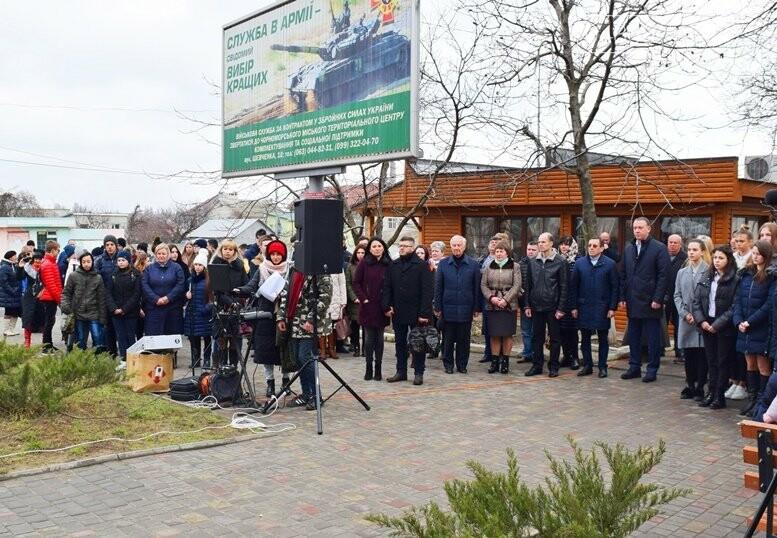В Черноморске почтили память Героев Небесной Сотни, фото-29