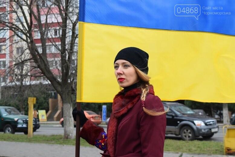 В Черноморске почтили память Героев Небесной Сотни, фото-6