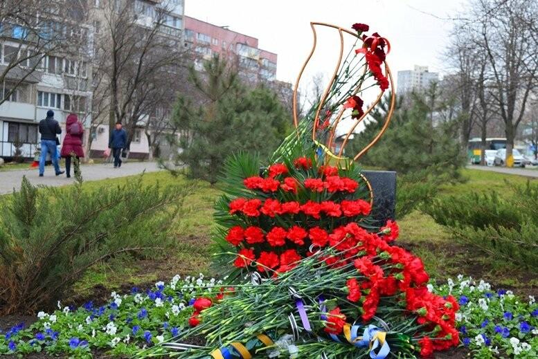 В Черноморске почтили память Героев Небесной Сотни, фото-33