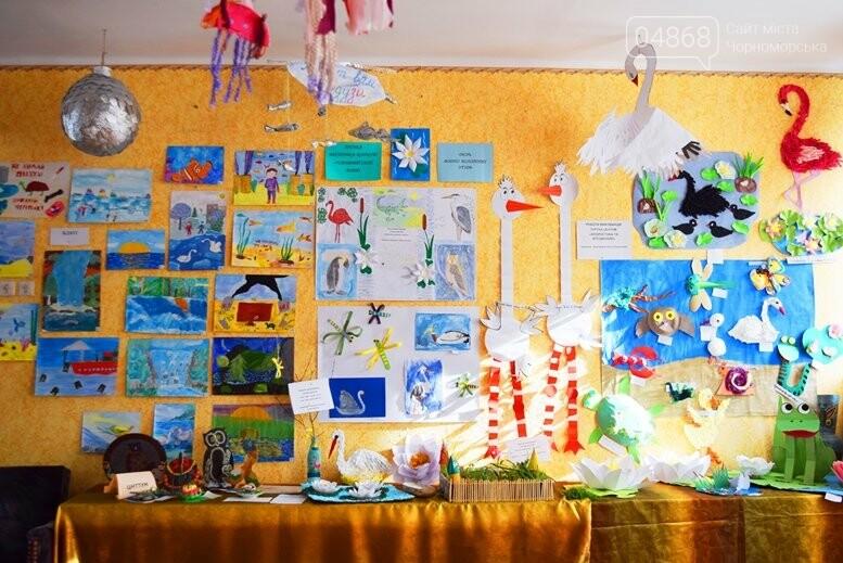В Черноморске дети рисовали «Волшебный мир воды», фото-13