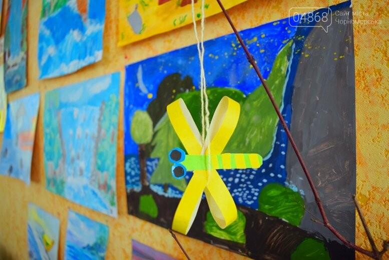 В Черноморске дети рисовали «Волшебный мир воды», фото-11