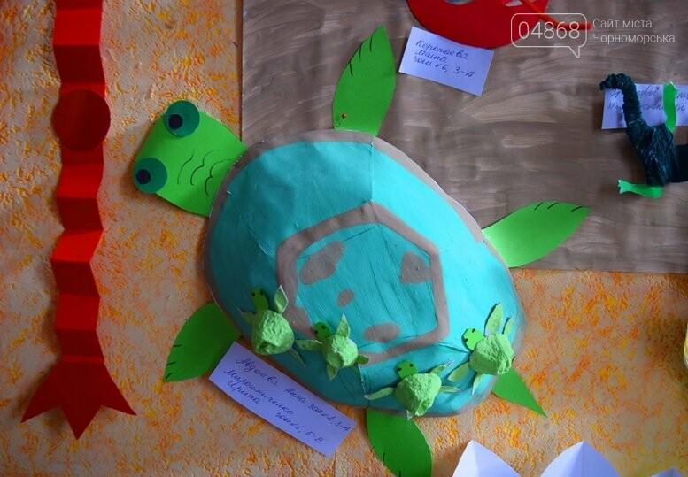 В Черноморске дети рисовали «Волшебный мир воды», фото-12