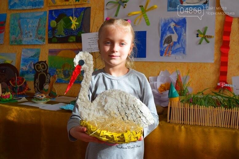 В Черноморске дети рисовали «Волшебный мир воды», фото-3