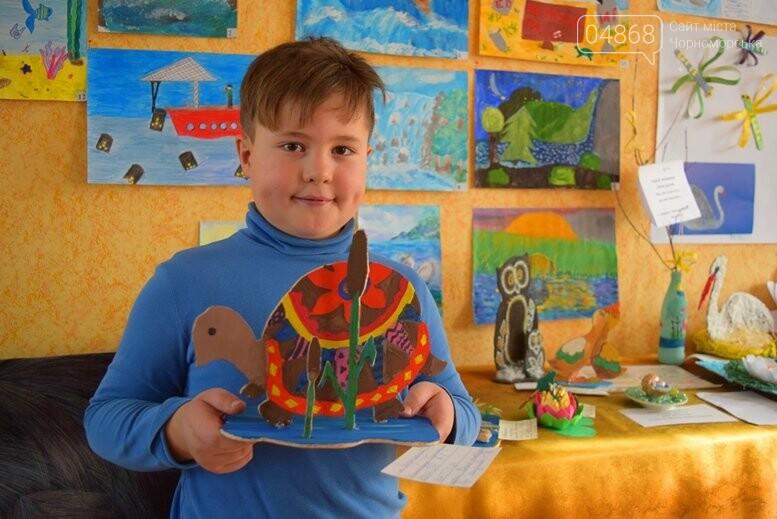 В Черноморске дети рисовали «Волшебный мир воды», фото-2