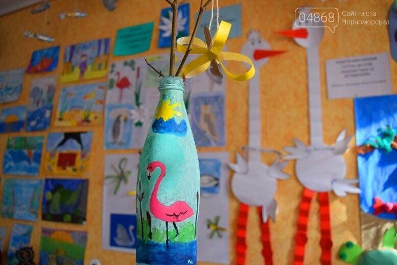 В Черноморске дети рисовали «Волшебный мир воды», фото-6
