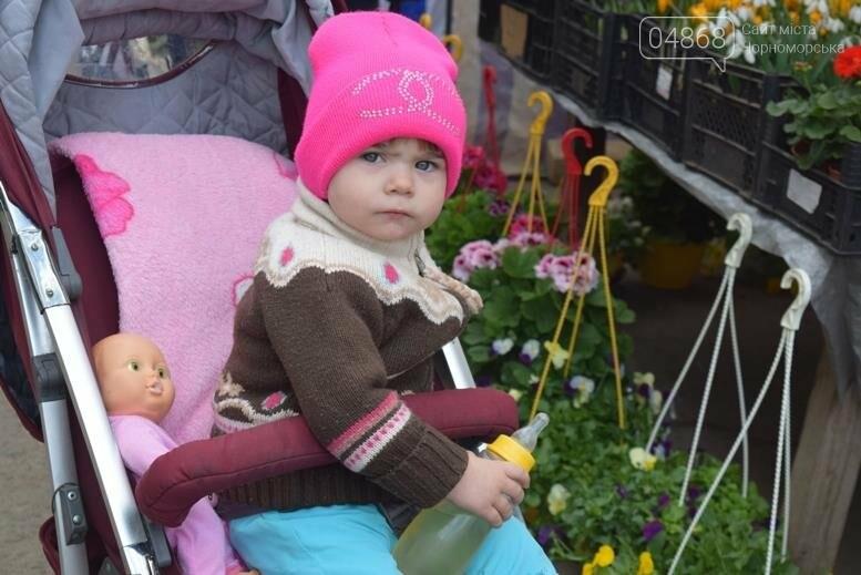 В Черноморске открылась весенняя цветочная ярмарка, фото-15