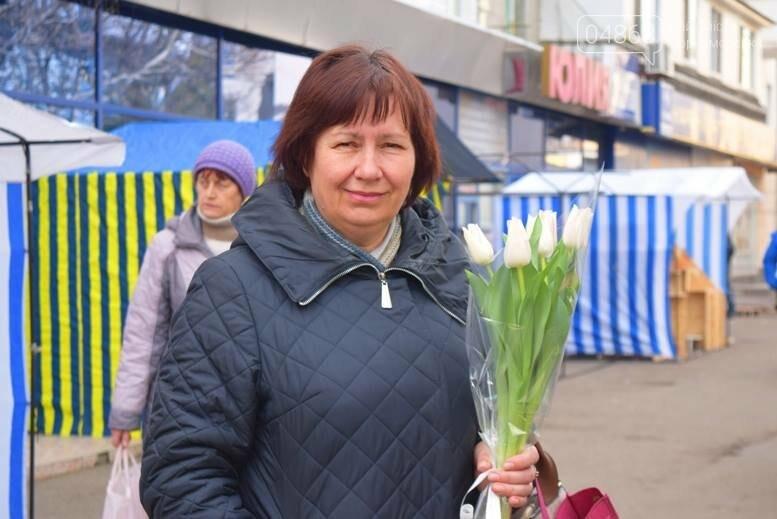 В Черноморске открылась весенняя цветочная ярмарка, фото-7