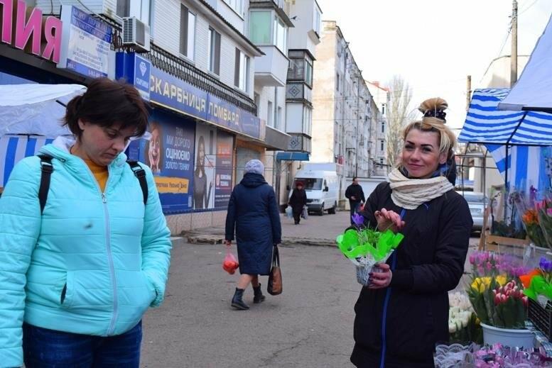 В Черноморске открылась весенняя цветочная ярмарка, фото-22