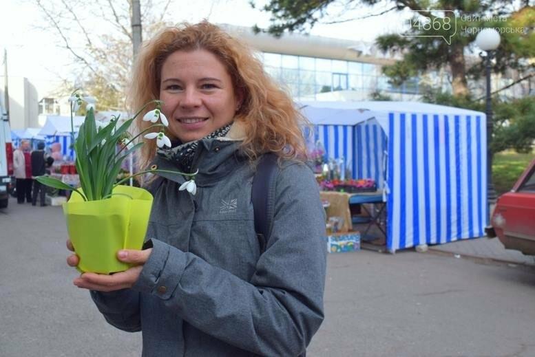 В Черноморске открылась весенняя цветочная ярмарка, фото-2