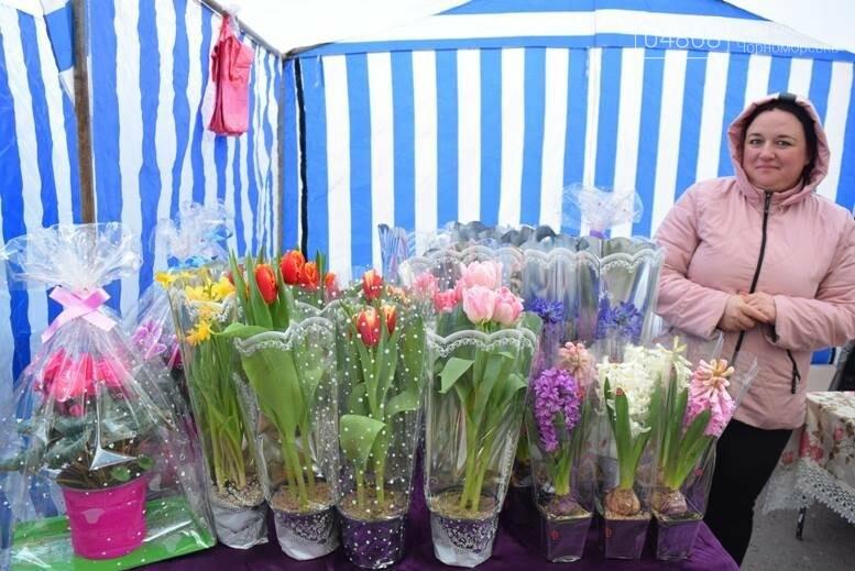 В Черноморске открылась весенняя цветочная ярмарка, фото-8