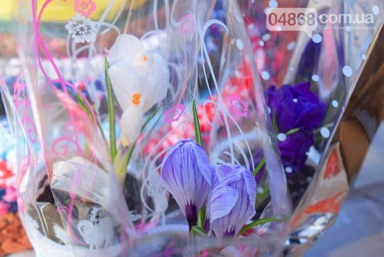 В Черноморске открылась весенняя цветочная ярмарка, фото-13