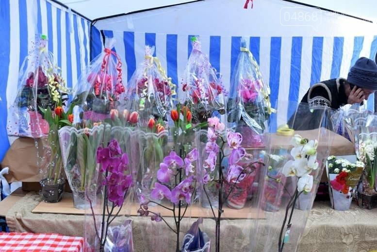 В Черноморске открылась весенняя цветочная ярмарка, фото-29