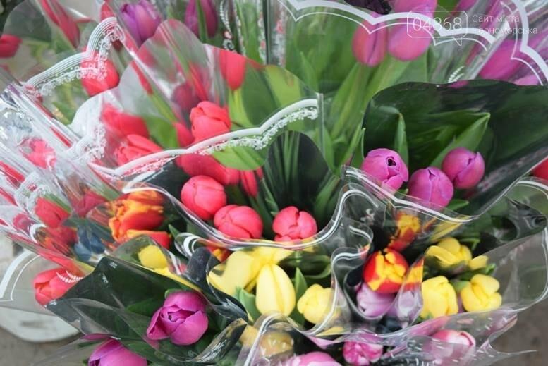 В Черноморске открылась весенняя цветочная ярмарка, фото-30