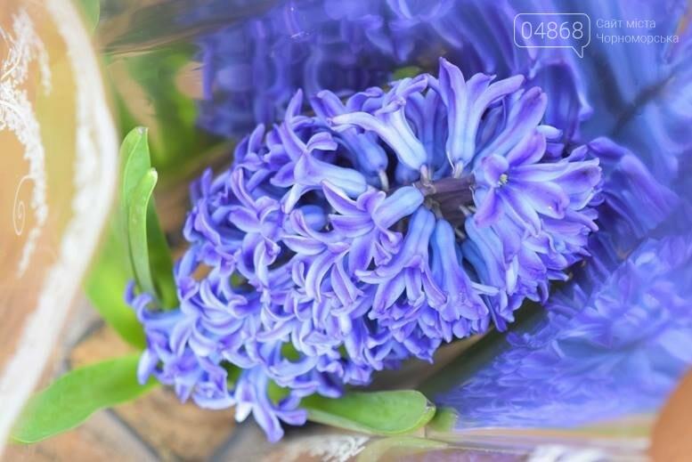 В Черноморске открылась весенняя цветочная ярмарка, фото-12