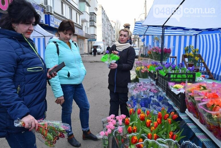 В Черноморске открылась весенняя цветочная ярмарка, фото-31