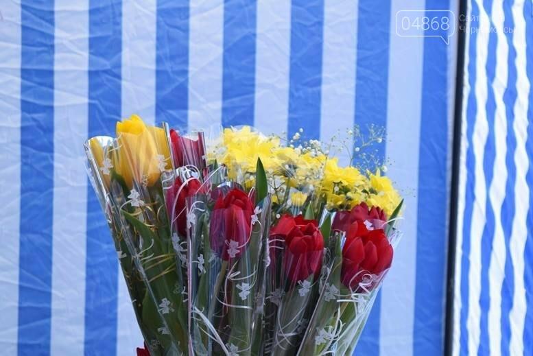 В Черноморске открылась весенняя цветочная ярмарка, фото-32