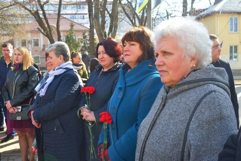В Черноморске прошёл флешмоб «Сердце Кобзаря», фото-4