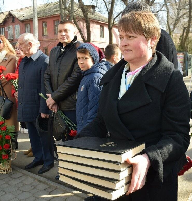 В Черноморске прошёл флешмоб «Сердце Кобзаря», фото-16