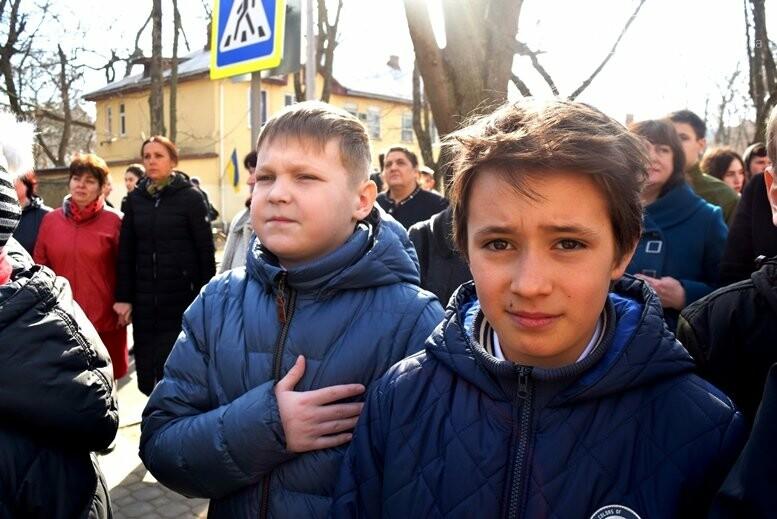 В Черноморске прошёл флешмоб «Сердце Кобзаря», фото-7