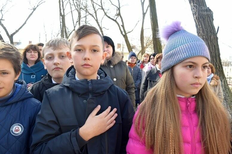 В Черноморске прошёл флешмоб «Сердце Кобзаря», фото-5